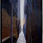 Venice Alley<br>86 x 73     Sold